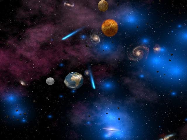 FreeGamia Space Screensaver